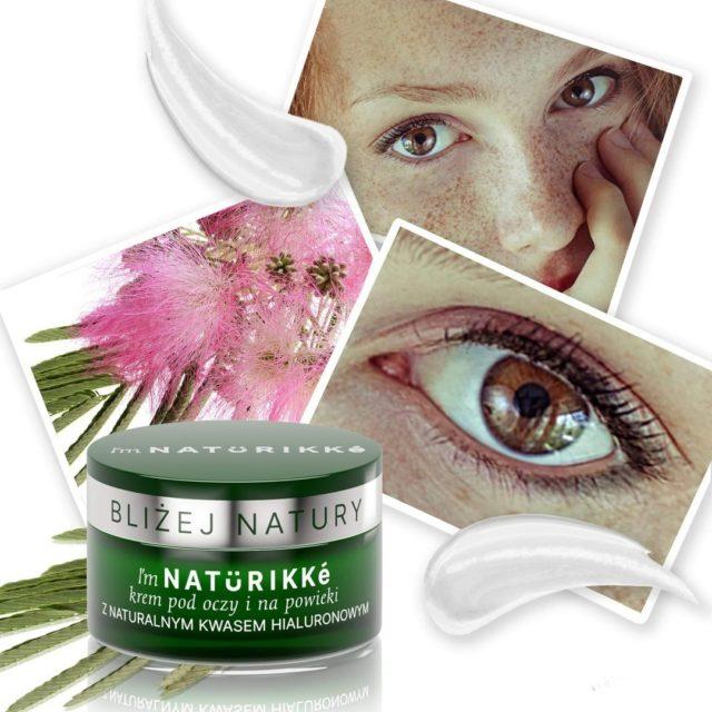 """Krem pod oczy i na powieki z naturalnym kwasem hialuronowym to aż 98% składników pochodzenia naturalnego 🌿 Pokochasz go za: 💚 widoczny efekt liftingu w przypadku opadających powiek 💚 odmłodzone spojrzenie 💚 zmniejszenie widoczności """"kurzych łapek"""" i cieni pod oczami Polecany dla kobiet w wieku 30-60 👩  Odwiedź mnie również na www.naturikke.pl 🍀 #naturikke #krempodoczy #naturalnekosmetyki #kosmetykinaturalne #naturalnekosmetykizpolski"""